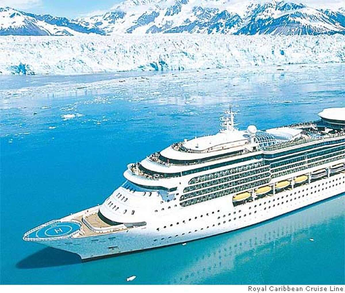 Large cruise ships are popular, offering variety in dining, entertainment and lodging. Photo courtesy of Royal Caribbean Cruise Line