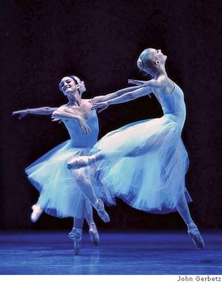 ###Live Caption:George Balanchine's SERENADE, will be one of three performances at Ballet San Jose. Photo by John Gerbetz###Caption History:George Balanchine's SERENADE, will be one of three performances at Ballet San Jose. Photo by John Gerbetz###Notes:###Special Instructions: Photo: John Gerbetz