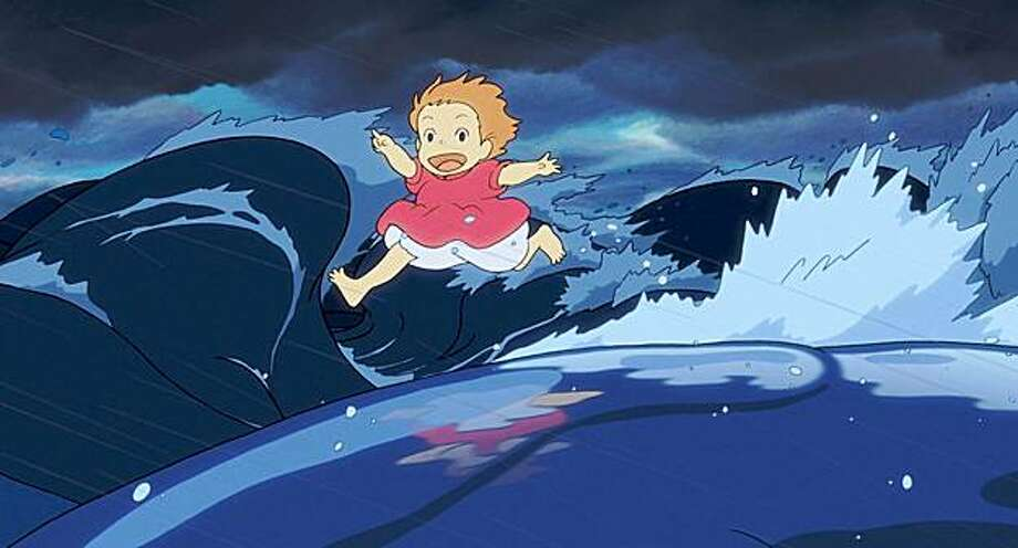 "Hayao Miyazaki's ""Ponyo"" is about a fish princess who longs to be human. Photo: Disney"