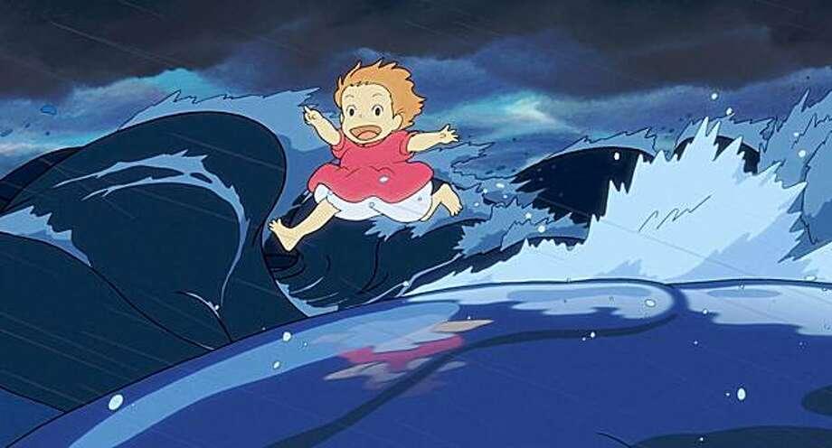"Hayao Miyazaki's ""Ponyo"" is about a fish princess who longs to be human. Photo: Disney"