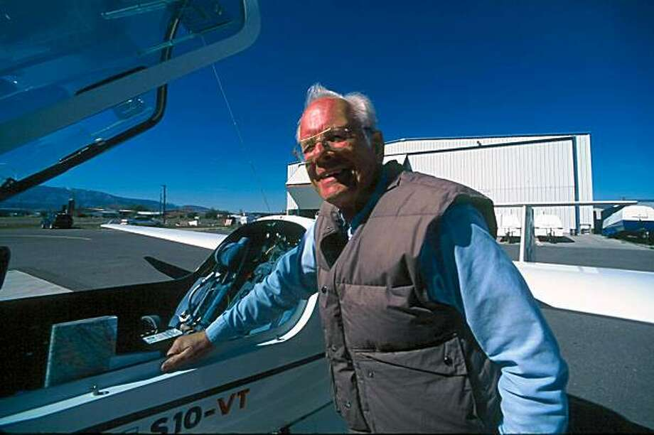 Thierry Thys of Oakland, shown here in this family photograph, is missing in central Idaho along with his motorized glider. Photo: Courtesy Tierney Thys