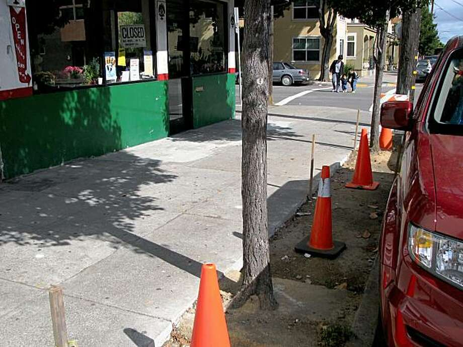 Mason and Francisco streets  in s.f. Photo: Jonathan Curiel, The Chronicle