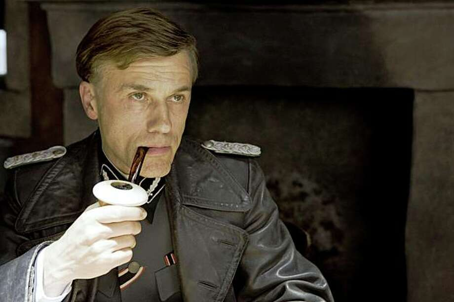 "Christoph Waltz in ""Inglourious Basterds."" Photo: Weinstein Co."
