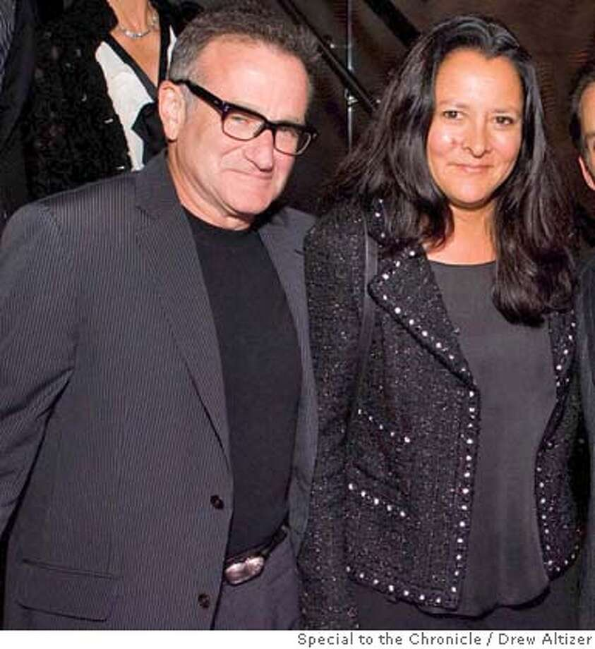 Robin Williams, Marsha Garces Williams, Seth Matarasso, Kim Gilbert Photo: X