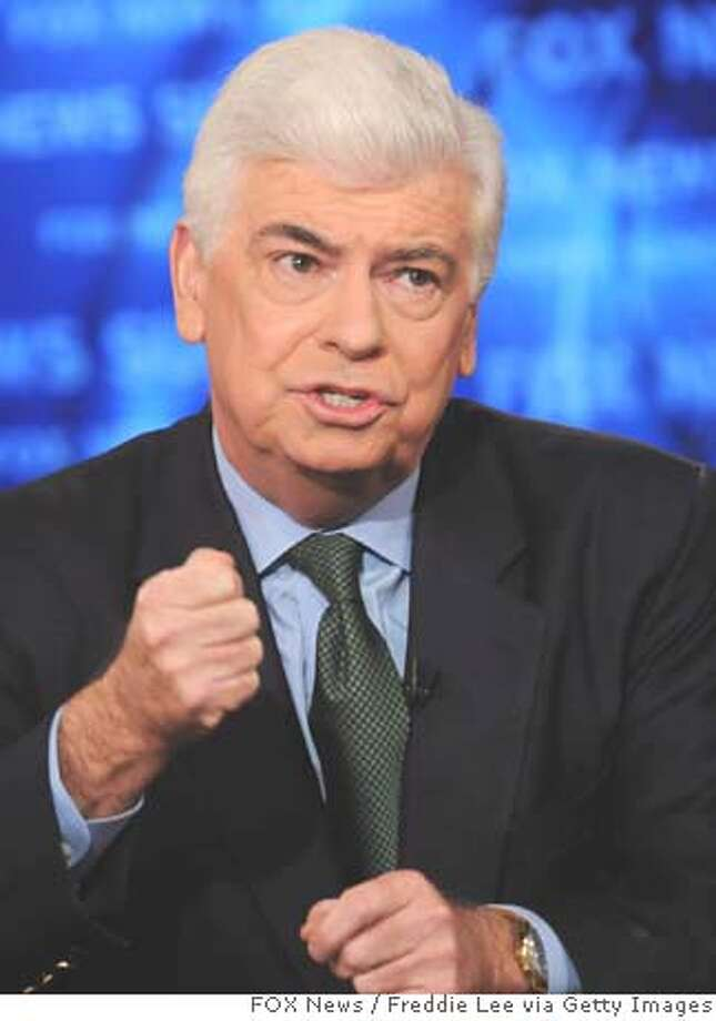###Live Caption:WASHINGTON - MARCH 16: In this photo provided by FOX News Sunday, Senator Chris Dodd (D-CT) appears on FOX News Sunday March 16th, 2008 in Washington, D.C. (Photo by Freddie Lee/FOX News Sunday via Getty Images)###Caption History:WASHINGTON - MARCH 16: In this photo provided by FOX News Sunday, Senator Chris Dodd (D-CT) appears on FOX News Sunday March 16th, 2008 in Washington, D.C. (Photo by Freddie Lee/FOX News Sunday via Getty Images)###Notes:FOX News Sunday###Special Instructions:Getty Images provides access to this publicly distributed image for editorial purposes and is not the copyright owner. Additional permissions may be required and are the sole responsibility of the end user. Photo: Handout
