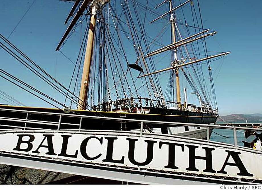 Tours of the historic Balclutha ship are available at the National Maritime Museum on Hyde Street on the waterfront. Photo: Chris Hardy, SFC