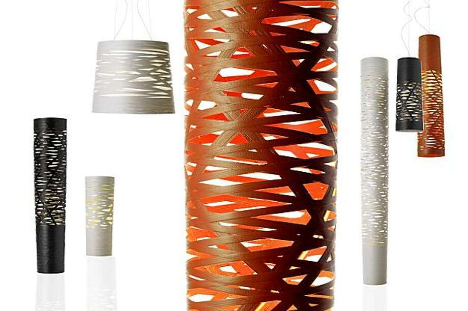 Tress table lamps by Marc Sadler Photo: Foscarini