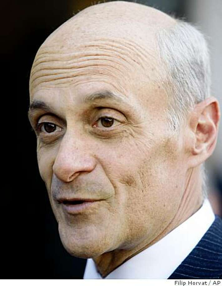 Dozens of government officials and corporate executives are expected to speak at RSA conference, including Department of Homeland Security Secretary Michael Chertoff. Photo: Filip Horvat, AP