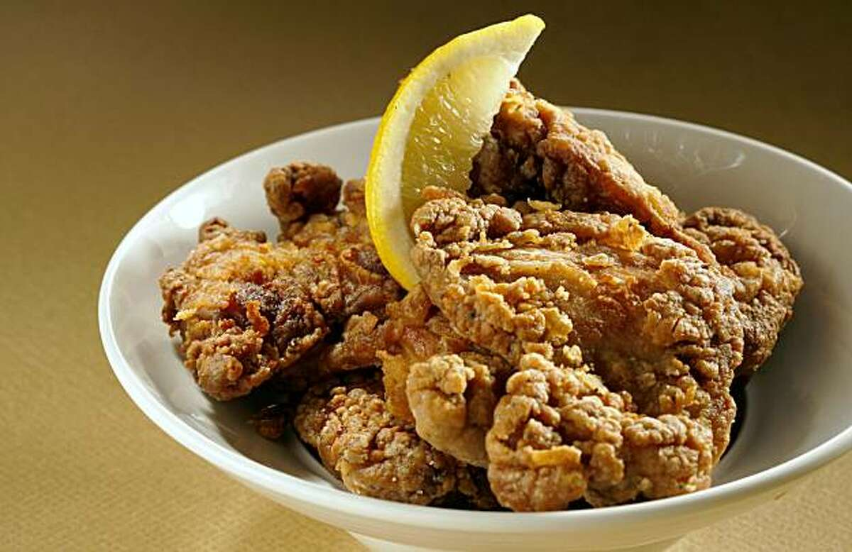 Fried Ginger Chicken for East column. Food styled by Mathew Ramsey. Photo by Craig Lee/Special to the Chronicle