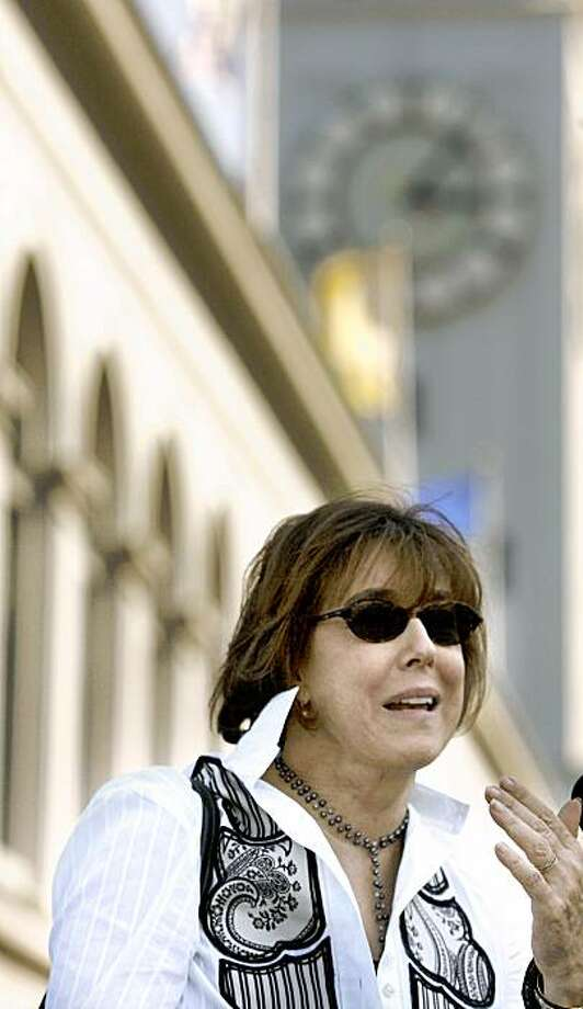 Nora Ephron Photo: Katy Raddatz, The Chronicle