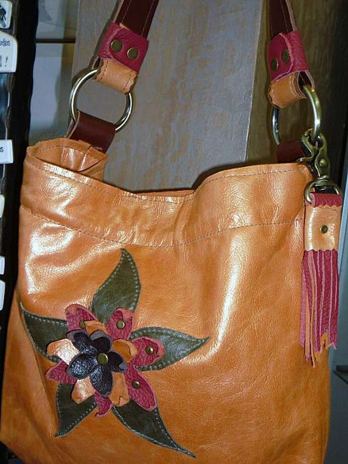 Riverside Studios in Truckee. A potter and a leather artisan run the place, and the purses are spectacular. Photo: Susan Fornoff, The Chronicle