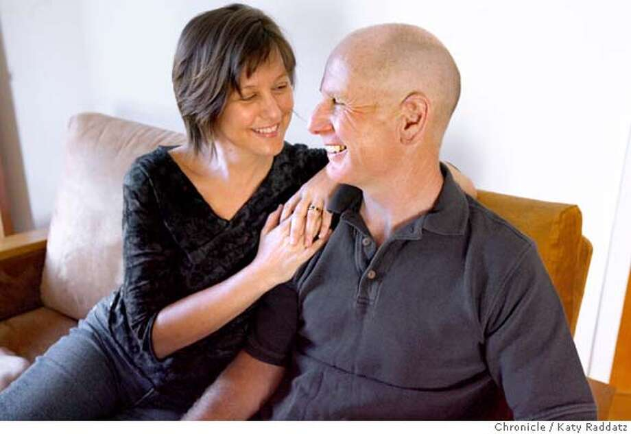 Therese Brown and her husband Kevin Brown on their couch in Vallejo, Calif. on Sunday, March 9, 2008. Photo by Katy Raddatz / The San Francisco Chronicle Ran on: 03-30-2008 Ran on: 03-30-2008 Photo: KATY RADDATZ