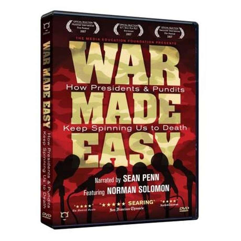 dvd cover WAR MADE EASY Ran on: 03-30-2008 Photo: Handout