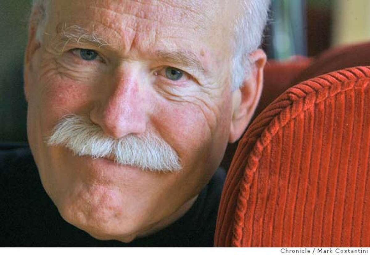 Author Tobias Wolff at his home in Stanford, CA on February 22, 2008. Photo by Mark Costantini / San Francisco Chronicle. Ran on: 03-16-2008