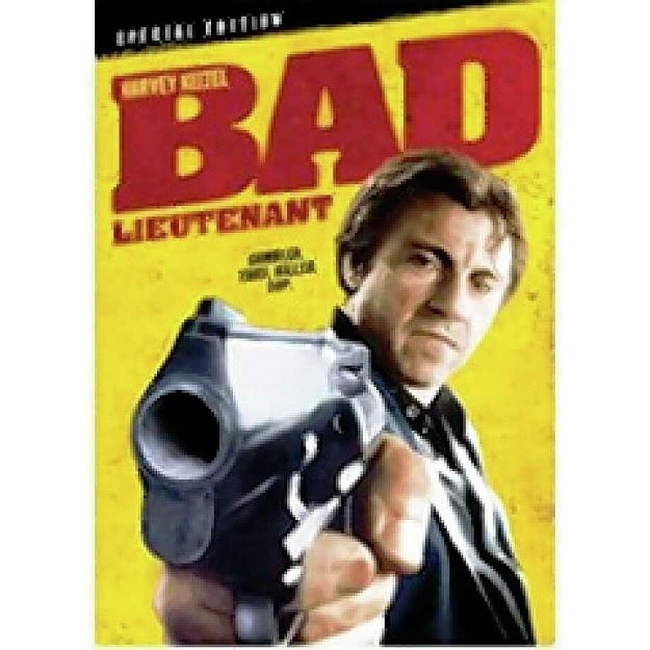 dvd cover BAD LIEUTENANT Photo: Amazon.com