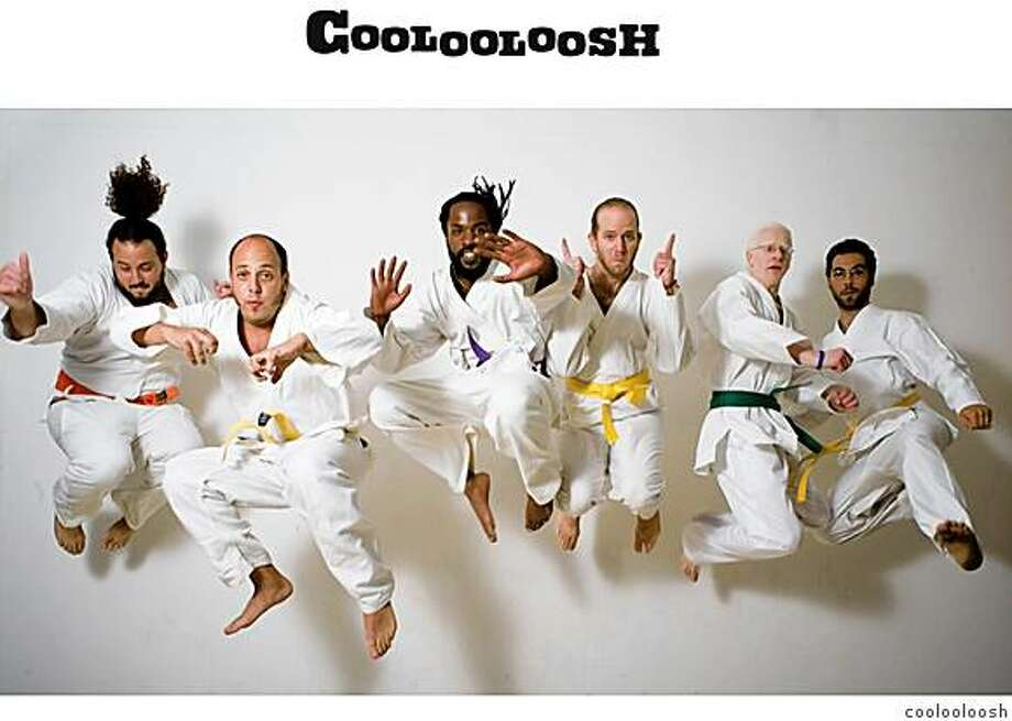 The Israeli hip hop band Coolooloosh will perform at the opening ceremonies of the Jewish Community Center Maccabi Games for teen athletes at 7 p.m. Aug. 2 at the Cow Palace. Photo: Coolooloosh