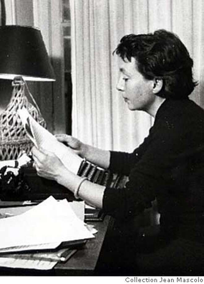 ###Live Caption:French author Marguerite Duras / Collection Jean Mascolo / FOR USE WITH BOOK REVIEW ONLY###Caption History:French author Marguerite Duras / Collection Jean Mascolo / FOR USE WITH BOOK REVIEW ONLY###Notes:###Special Instructions: Photo: Collection Jean Mascolo