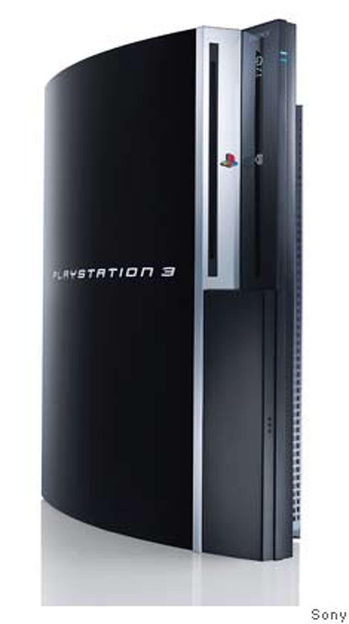 PS3Vert.jpg Sony Playstation 3. Sony / Courtesy to The Chronicle