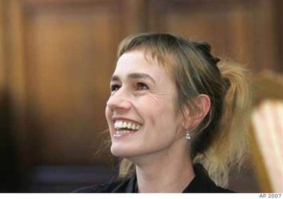 ###Live Caption:Sandrine Bonnaire###Caption History:Sandrine Bonnaire###Notes:###Special Instructions: Photo: AP 2007