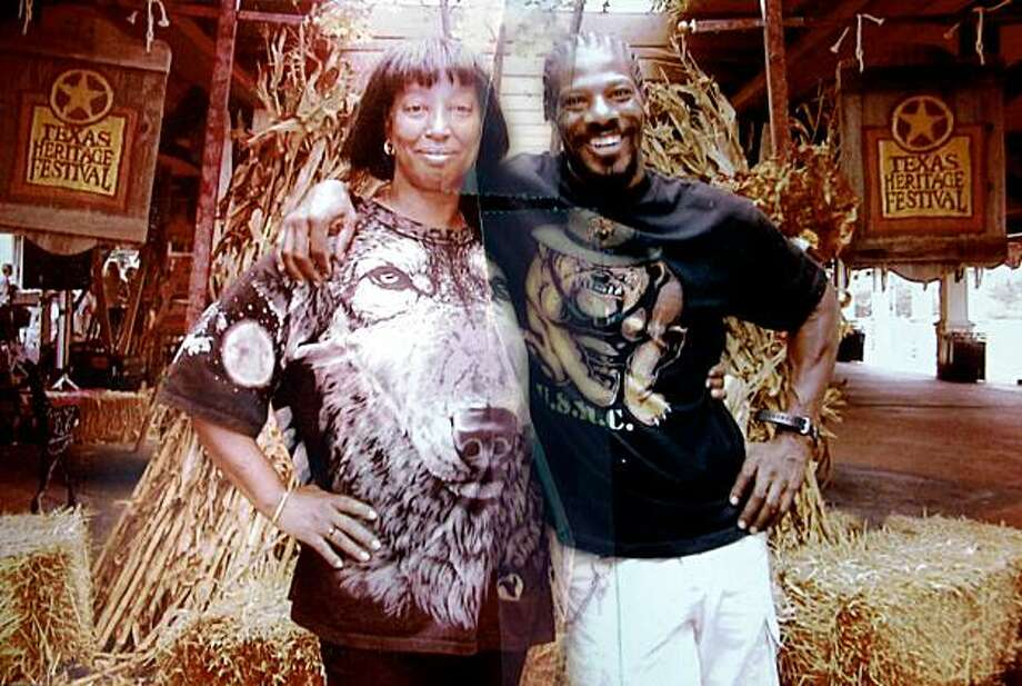 A snapshot of Deborah Ross and Nathaniel Burris was provided by Ross' family in Richmond. Photo: Courtesy Of Tyrice Ross