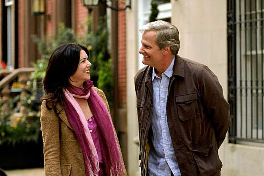 "In this film publicity image released by Magnolia Pictures, Lauren Graham, left, and Jeff Daniels are shown in a scene from, ""The Answer Man."" Photo: Magnolia Pictures, AP"