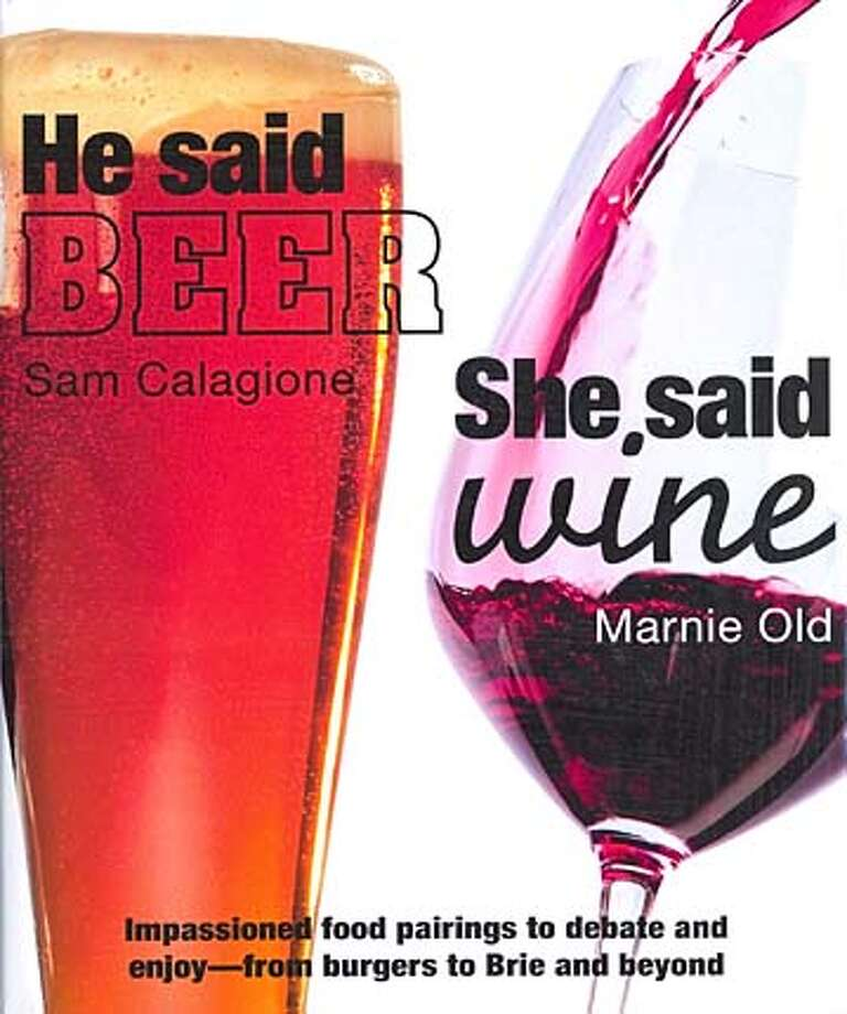 ###Live Caption:Cover of the book He Said Beer, She Said Wine by Sam Calagione and Marnie Old###Caption History:Cover of the book He Said Beer, She Said Wine by Sam Calagione and Marnie Old###Notes:###Special Instructions: Photo: Xx