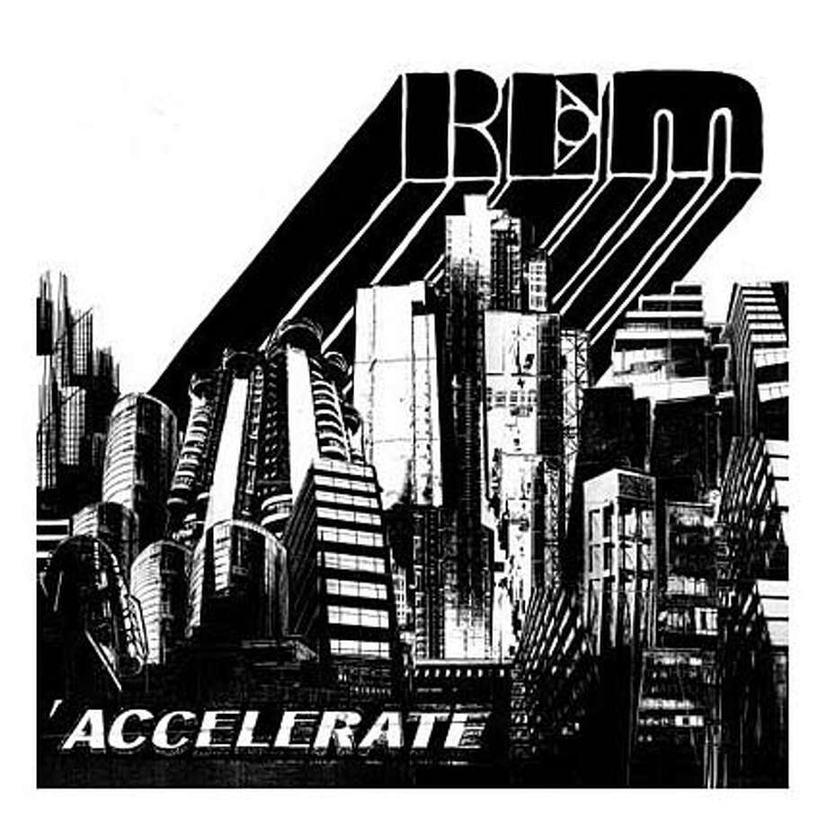 "CD cover for R.E.M.'s ""Accelerate"" Ran on: 03-30-2008 Photo: Warner Bros. Records"