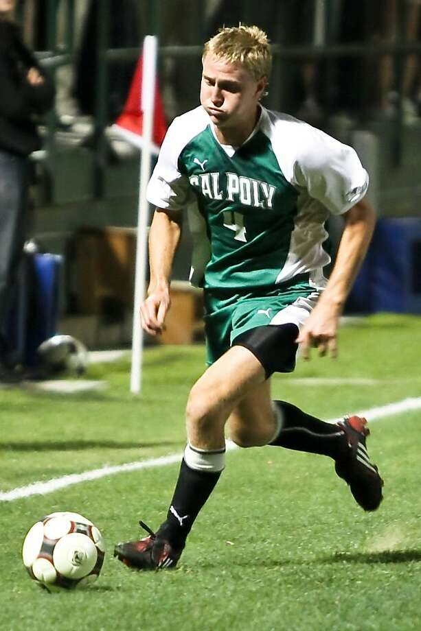 Anton Peterlin, former Lowell star, will play for Everton in the British Premier League Photo: Cal Poly Athletics