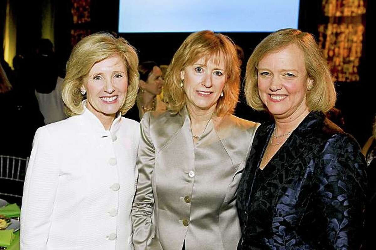 The Exploratorium's Women in Science Awards Dinner was May 18 in San Francisco. Dawn Lepore, Sandy Otellini, Meg Whitman