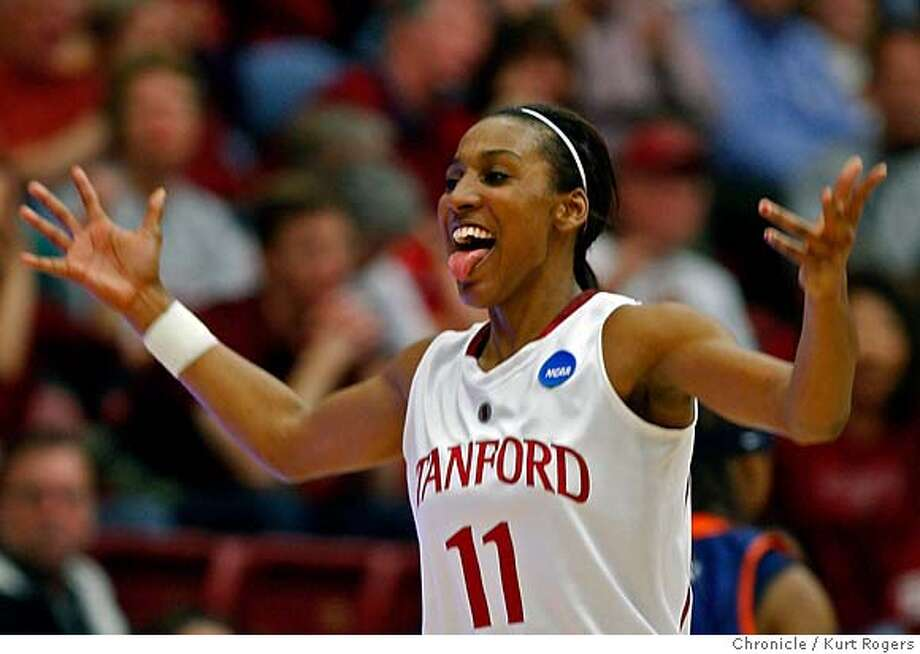 ###Live Caption:Stanford's Candice Wiggins, who scored 44 points in the game gestures in second half of game on Monday March 24 2008 in Stanford, Calif.  Photo By Kurt Rogers / San Francisco Chronicle###Caption History:Candice Wiggins she scored 44 points in in the game . on Monday March 24 2008 in Stanford, Calif  Photo By Kurt Rogers / San Francisco Chronicle###Notes:Stanford Vs UTEP  2008 NCAA Womens Baskertball Seond Round Maples Pavillion###Special Instructions:MANDATORY CREDIT FOR PHOTOG AND SAN FRANCISCO CHRONICLE/NO SALES-MAGS OUT Photo: Kurt Rogers