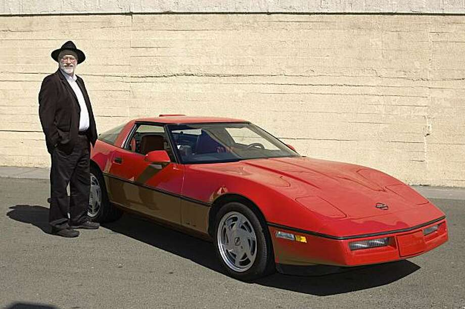 Jake Smith fell in love with Corvettes as a child but didn't own one until more than 50 years later, when he purchased this 1988 model. Photo: Stephen Finerty