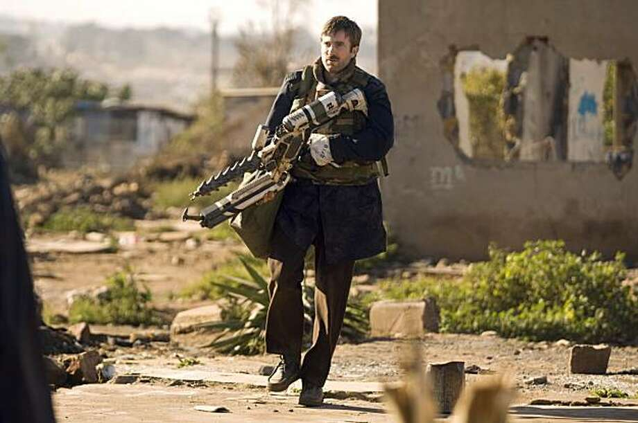 Sharlto Copley in TriStar Pictures' sci-fi thriller DISTRICT 9. Sharlto Copley in TriStar Pictures' sci-fi thriller DISTRICT 9. Photo: David Bloomer, Columbia TriStar