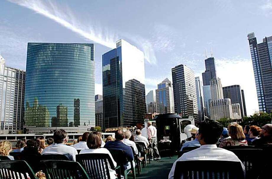 Chicago architecture river cruise. Photo: Courtesy Of Chicago's First Lady