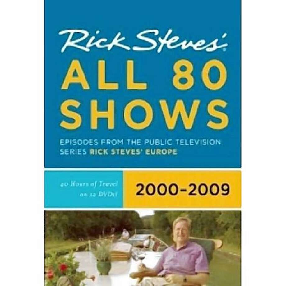dvd cover RICK STEVES' ALL 80 SHOWS Photo: Amazon.com