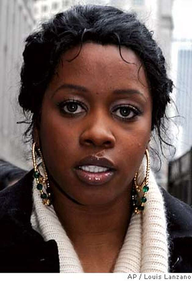 "###Live Caption:** FILE ** Grammy-nominated rapper Remy Ma exits Manhattan criminal court following her hearing,in this Dec. 5, 2007, file photo in New York. Remy Ma went on trial for assault Monday, March 10, 2008, with a prosecutor claiming the rapper shot and almost killed a friend because she thought the woman had stolen money from her. But a lawyer for the singer, whose real name is Remy Smith, said the July 14 shooting after a party was ""a tragic accident."" Smith, 26, is charged in Manhattan's state Supreme Court with first-degree assault and related charges in the shooting of Makeda Barnes Joseph, who was critically wounded. (AP Photo/ Louis Lanzano, file)###Caption History:** FILE ** Grammy-nominated rapper Remy Ma exits Manhattan criminal court following her hearing,in this Dec. 5, 2007, file photo in New York. Remy Ma went on trial for assault Monday, March 10, 2008, with a prosecutor claiming the rapper shot and almost killed a friend because she thought the woman had stolen money from her. But a lawyer for the singer, whose real name is Remy Smith, said the July 14 shooting after a party was ""a tragic accident."" Smith, 26, is charged in Manhattan's state Supreme Court with first-degree assault and related charges in the shooting of Makeda Barnes Joseph, who was critically wounded. (AP Photo/ Louis Lanzano, file)###Notes:Remy Ma, Remy Smith###Special Instructions:DEC. 5, 2007, FILE PHOTO Photo: Louis Lanzano"