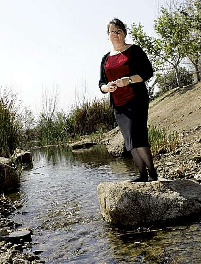 Environmental activist turned utility executive Martha Davis has championed water-recycling programs. Photo: Gina Ferazzi, Los Angeles Times