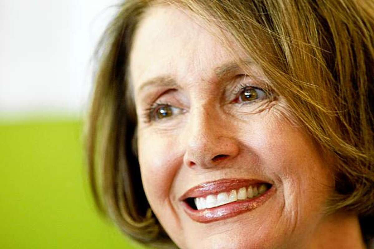 Speaker Nancy Pelosi announce the expansion of poverty-fighting services, Monday August 10, 2009, while visiting a Homeless Prenatal Program in San Francisco, Calif.