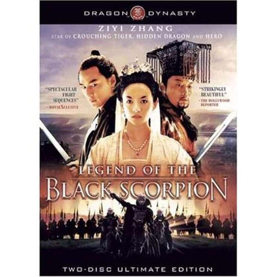 ###Live Caption:DVD cover: LEGEND OF THE BLACK SCORPION###Caption History:DVD cover: LEGEND OF THE BLACK SCORPION###Notes:###Special Instructions: Photo: Amazon.com