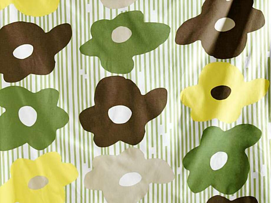 This product image released by IKEA shows Hjordis fabric. Photo: IKEA, AP