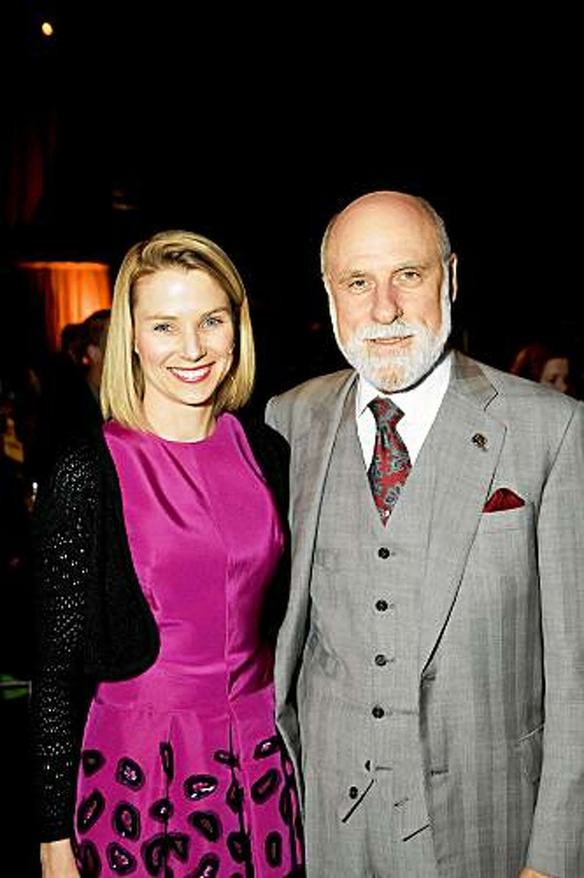The Exploratorium's Women in Science Awards Dinner was May 18 in San Francisco. Marissa Mayer, Vinton Cerf
