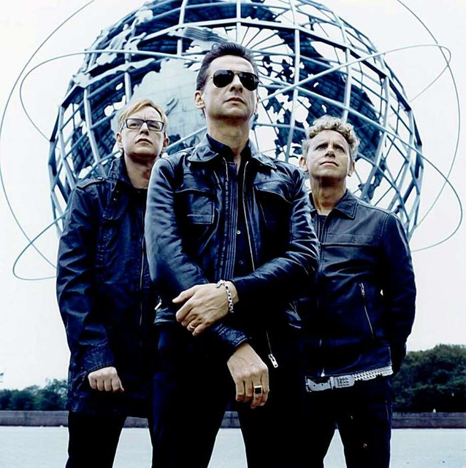 "Keyboardist Andy Fletcher describe's Depeche Mode's current tour as its ""most calamitous"" Photo: Warner Bros."