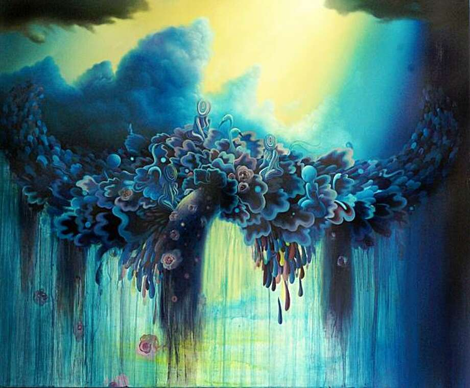"From ""Thank You and Goodbye"" by Michael Page. Title of work TBA. Photo: Varnish Fine Art"