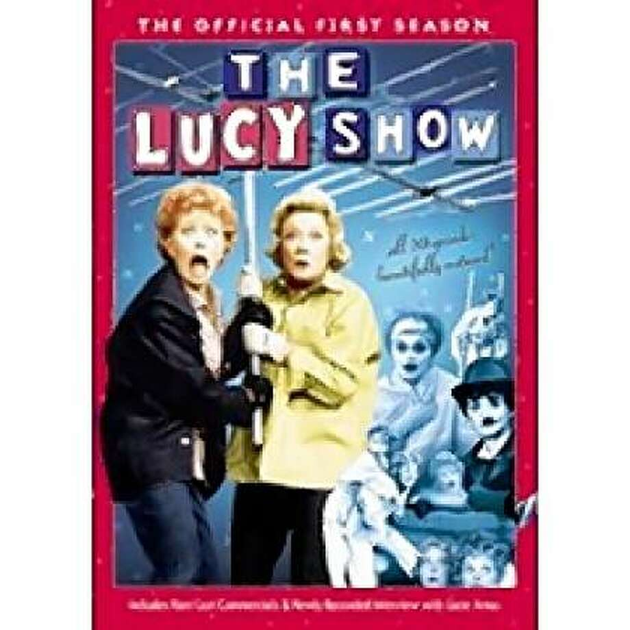 dvd cover THE LUCY SHOW: COMPLETE FIRST SEASON Photo: Amazon.com