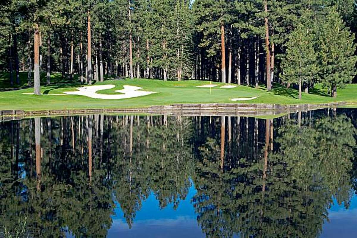 Hole 6A at Edgewood golf course at Lake Tahoe