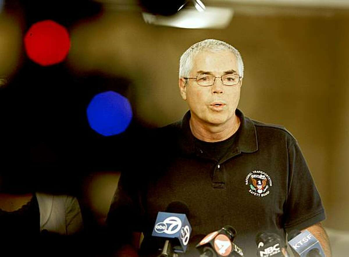 Ted Turpin, the lead investigator with the National Transportation Safety Board, talked about the agency response to the Saturday accident during a press conference Sunday July 19, 2009