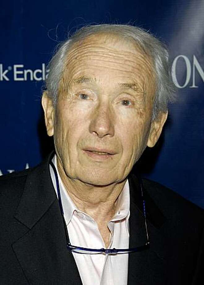 "FILE - In this Oct 29, 2007 file photo, author Frank McCourt arrives at ""The Kite Runner"" post screening dinner party in New York. Brother Malachy McCourt says Frank McCourt died Sunday afternoon July 19, 2009, at a Manhattan hospice in New York City at age 78.  (AP Photo/Peter Kramer, file) Photo: Peter Kramer, AP"