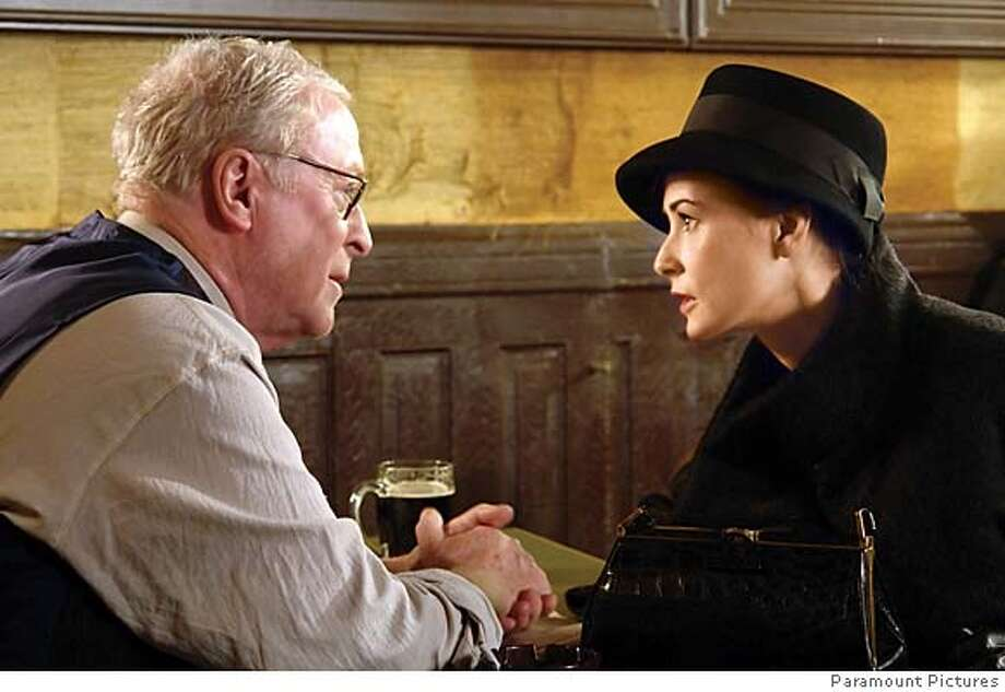 """###Live Caption:Michael Caine and Demi Moore in Michael Radford's """"Flawless""""###Caption History:Michael Caine and Demi Moore in Michael Radford's """"Flawless""""###Notes:###Special Instructions: Photo: Magnolia Pictures"""