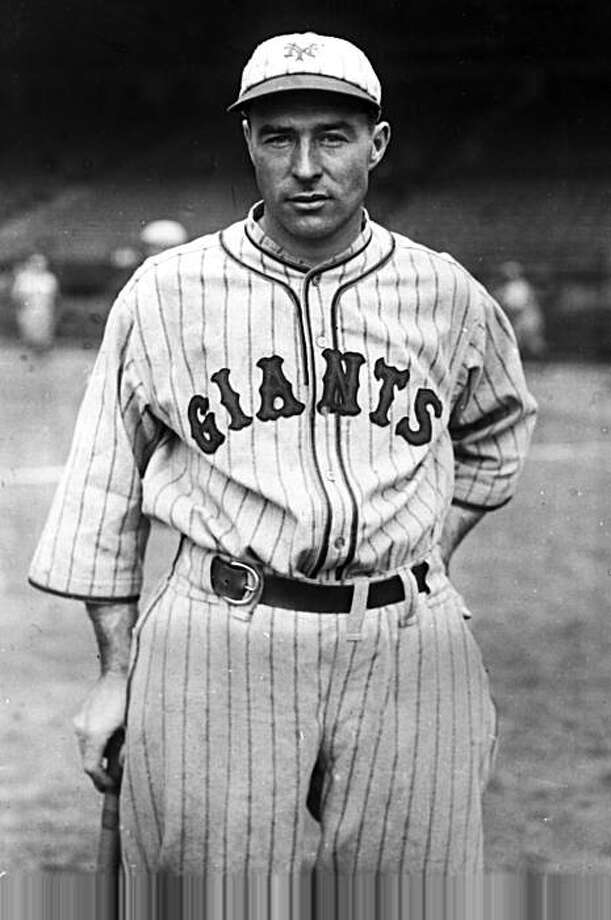History: Lefty O'Doul, new outfielder for the New York Giants, poses on May 24, 1928.  (AP Photo)  Ran on: 10-04-2004 Lefty O'Doul succeeded as a big-league player, then succeeded as a Pacific Coast League manager and San Francisco restaurateur.  Ran on: 10-04-2004  Ran on: 07-09-2007 Joe DiMaggio (San Francisco), top, and Willie Stargell (Alameda), above, both are locks as starters, but all-time steals leader Rickey Henderson (Oakland), right, comes off the bench. Ran on: 10-25-2007 Lefty O'Doul is getting another chance to make the Hall of Fame via a new award. Ran on: 10-25-2007  Lefty O'Doul, new outfielder for the New York Giants, poses on May 24, 1928. (AP Photo)   Ran on: 10-04-2004  Lefty O'Doul succeeded as a big-league player, then succeeded as a Pacific Coast League manager and San Francisco restaurateur. Photo: Associated Press 1928, AP