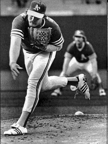 ###Live Caption:A's pitcher Brian Kingman lost 20 games for the A's in 1980.###Caption History:A's pitcher Brian Kingman lost 20 games for the A's in 1980.###Notes:###Special Instructions: Photo: UPI
