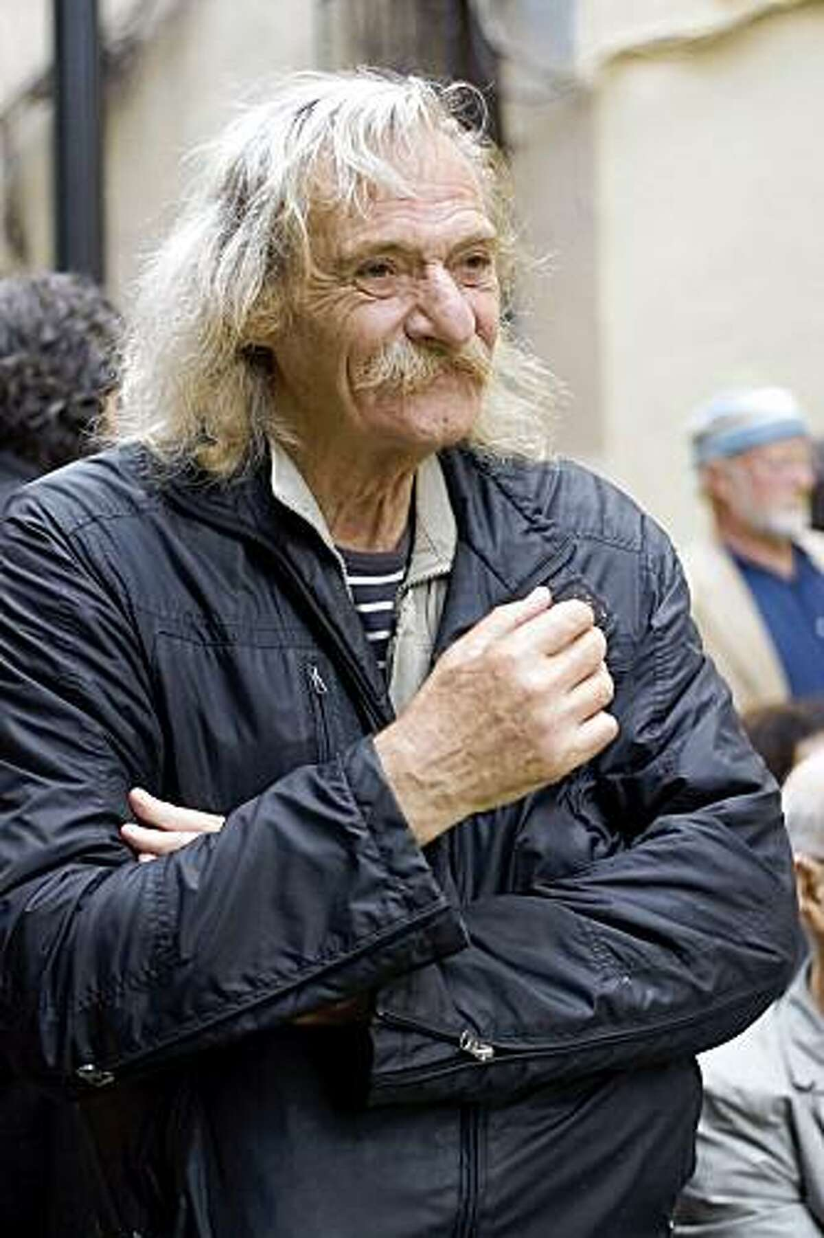 Jack Hirschman, creator of the San Francisco International Poetry Festival and former SF Poet Laureate Courtesy of Friends of the San Francisco Public Library